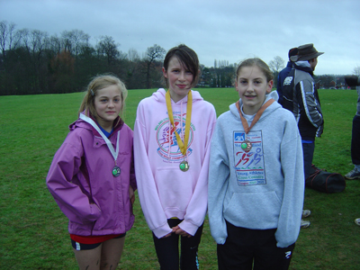 Cross Country Race Medals